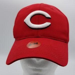 MLB Cincinnati Red's Baseball Snap Back Red Cap